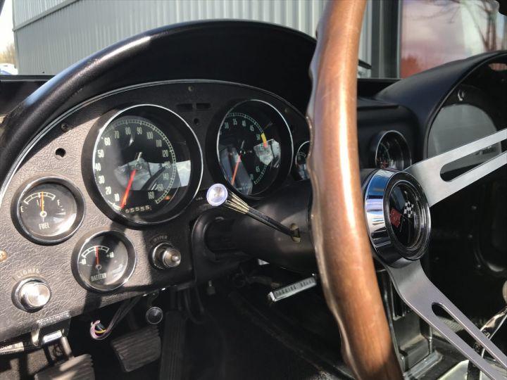 Chevrolet Corvette c2 stingray blanc - 13