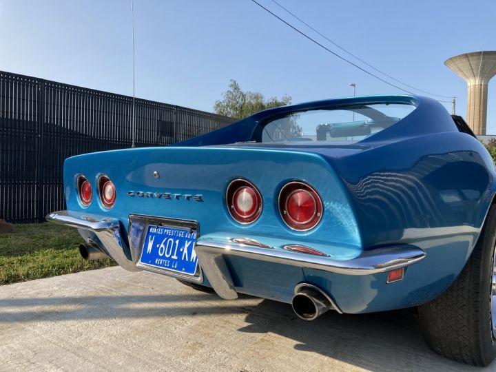 Chevrolet Corvette C3 STINGRAY Bleu - 4