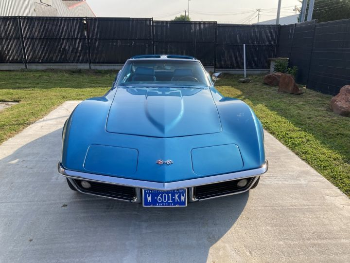 Chevrolet Corvette C3 STINGRAY Bleu - 5