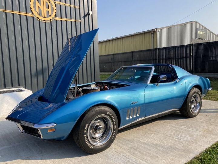 Chevrolet Corvette C3 STINGRAY Bleu - 9