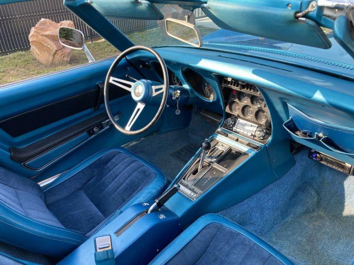 Chevrolet Corvette C3 STINGRAY Bleu - 11