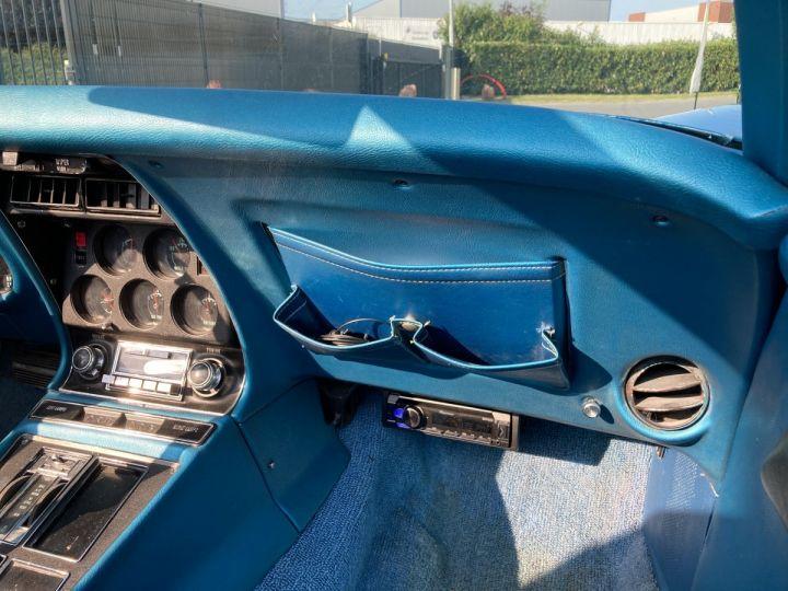 Chevrolet Corvette C3 STINGRAY Bleu - 12