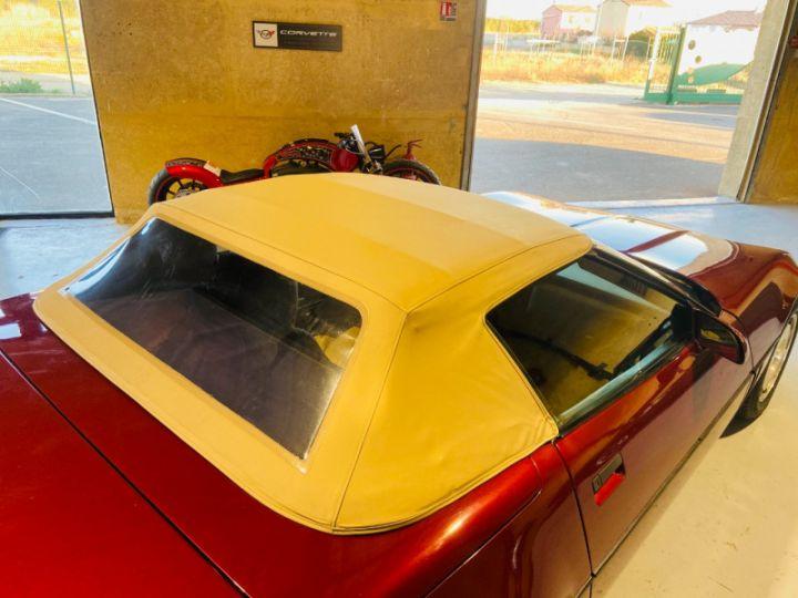 Chevrolet Corvette C4 CABRIOLET 5.7 V8 L98 EN FRANCE Bordeau - 19