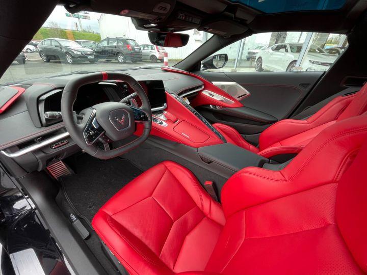 Chevrolet Corvette C8 V8 6.2L 495 CH 2LT PACK Z51 Blanche + Bande Noir - 12