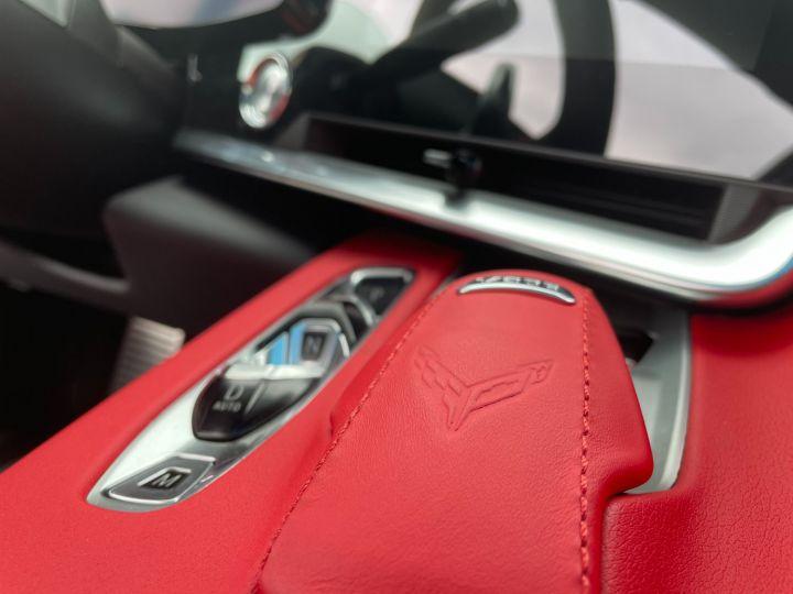 Chevrolet Corvette C8 V8 6.2L 495 CH 2LT PACK Z51 Blanche + Bande Noir - 15