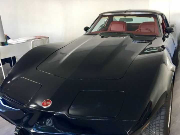 Chevrolet Corvette Stingray  Noir Occasion - 1