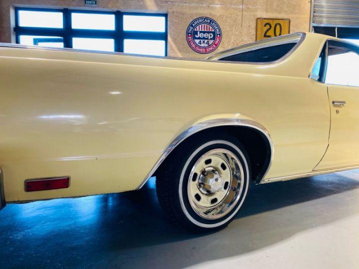 Chevrolet Elcamino V8 5.0 Jaune - 8