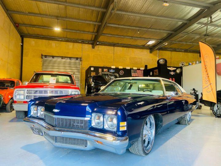 Chevrolet Impala 5.7 V8 LOWRIDER EN FRANCE Bleu - 3