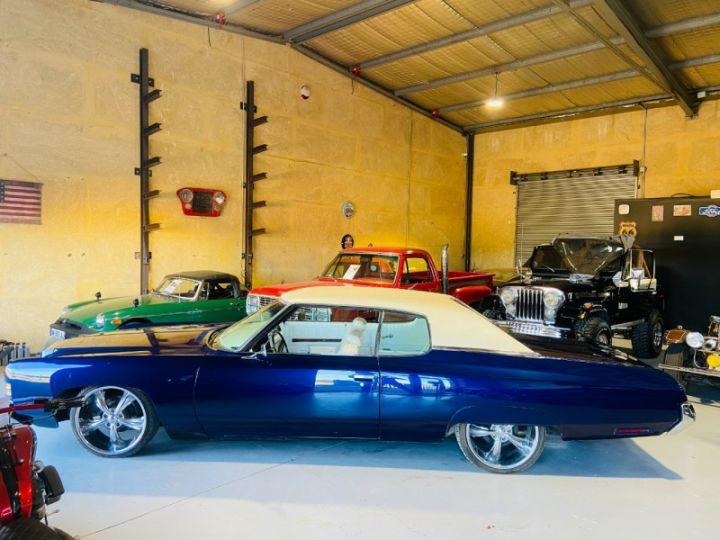 Chevrolet Impala 5.7 V8 LOWRIDER EN FRANCE Bleu - 4