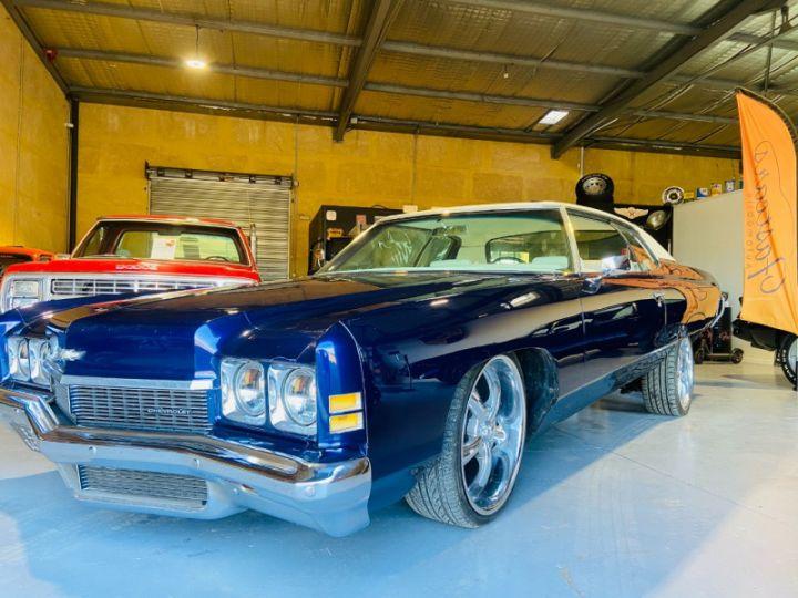 Chevrolet Impala 5.7 V8 LOWRIDER EN FRANCE Bleu - 9