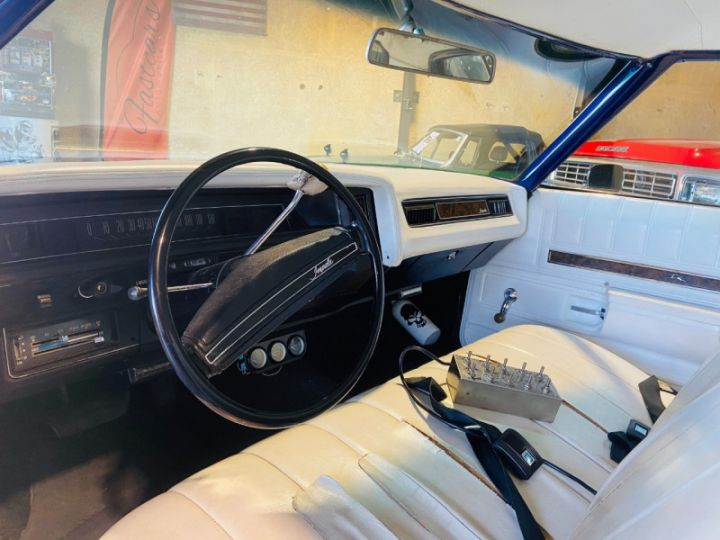 Chevrolet Impala 5.7 V8 LOWRIDER EN FRANCE Bleu - 13