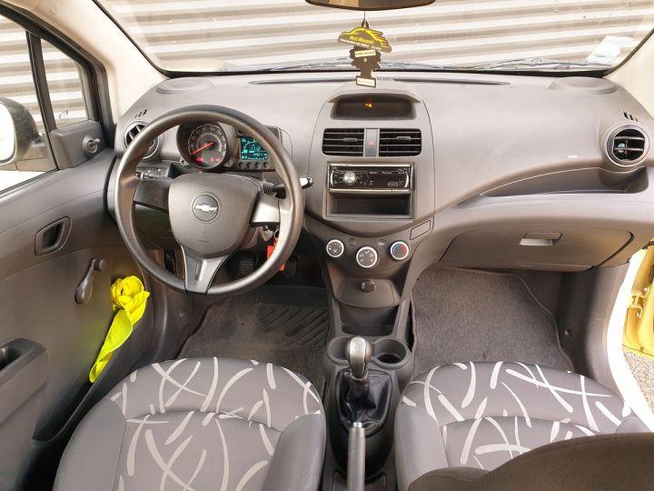 Chevrolet Spark 1.0 68 ls 5 portes i Jaune Occasion - 5