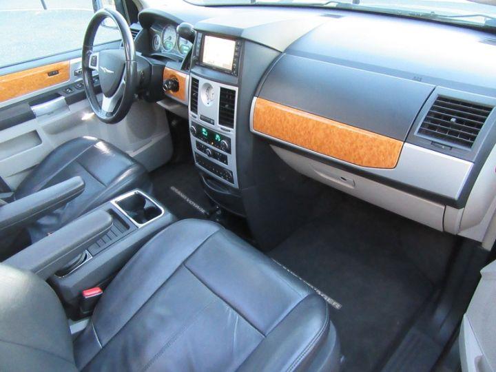 Chrysler GRAND VOYAGER 7 PLACES 2.8 CRD 20EME ANNIVERSAIRE BA Gris Fonce Occasion - 12