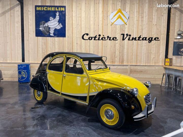 Citroen 2CV Très authentique 2cv6 charleston jaune et noire 1ère main Jaune - 1