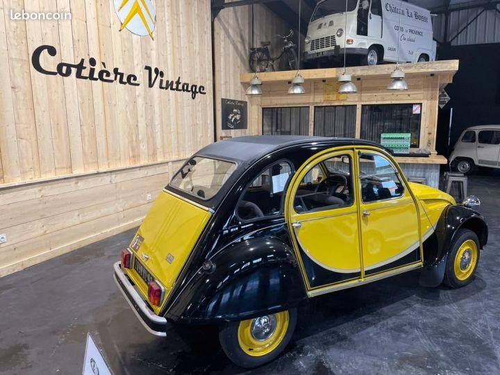 Citroen 2CV Très authentique 2cv6 charleston jaune et noire 1ère main Jaune - 5