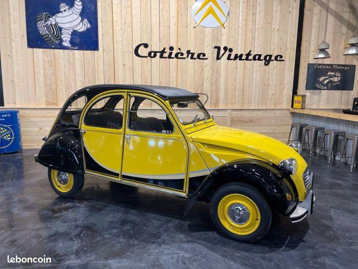 Citroen 2CV Très authentique 2cv6 charleston jaune et noire 1ère main Jaune - 8