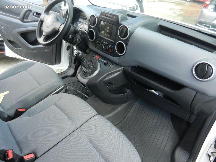 Citroen BERLINGO 1.6 BlueHDi 75Ch 2016 GPS garantie 12 mois Blanc - 4