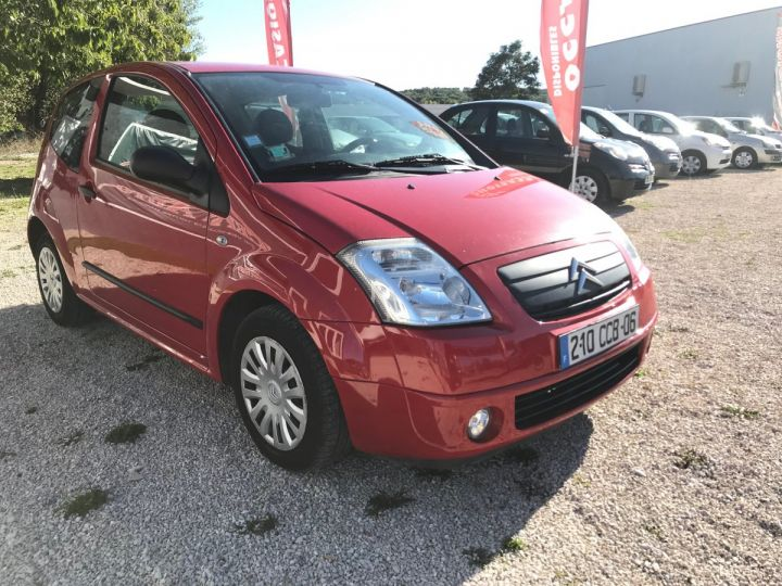 Citroen C2 1.1I PACK AMBIANCE ROUGE Occasion - 2