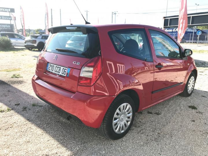 Citroen C2 1.1I PACK AMBIANCE ROUGE Occasion - 3