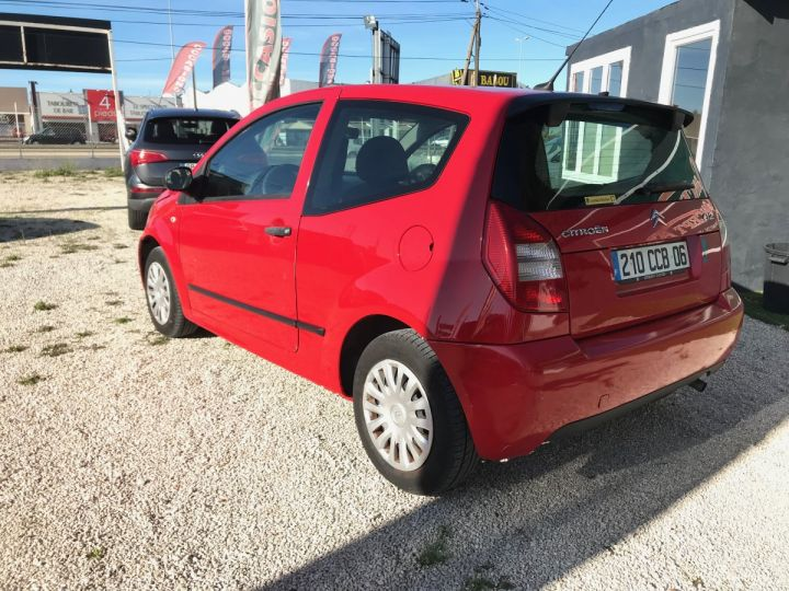Citroen C2 1.1I PACK AMBIANCE ROUGE Occasion - 4
