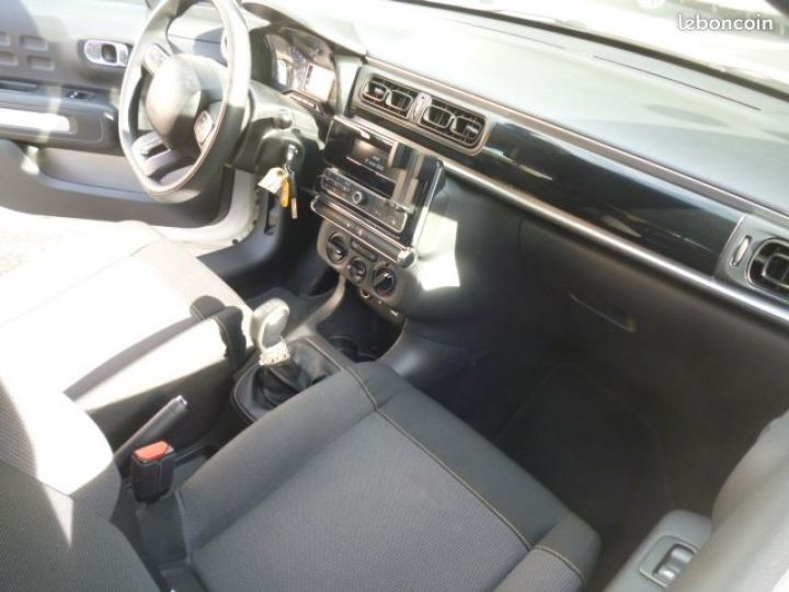 Citroen C3 BlueHDi 75 S&S BVM garantie 12 mois Blanc - 4