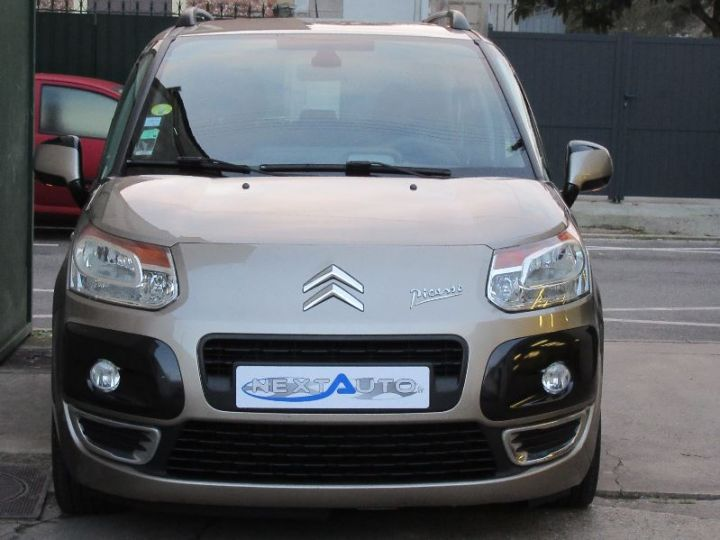Citroen C3 Picasso 1.6 HDI90 EXCLUSIVE BLACK PACK MARRON Occasion - 10