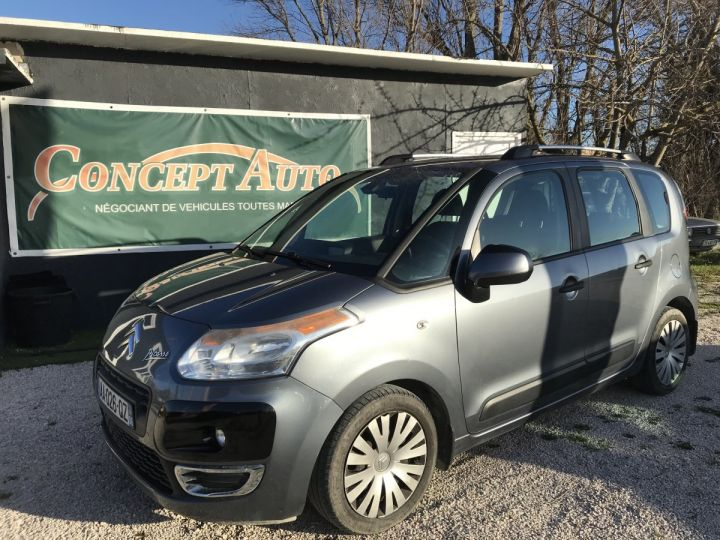 Citroen C3 Picasso EXCLUSIVE  GRIS FONCE METAL Occasion - 1
