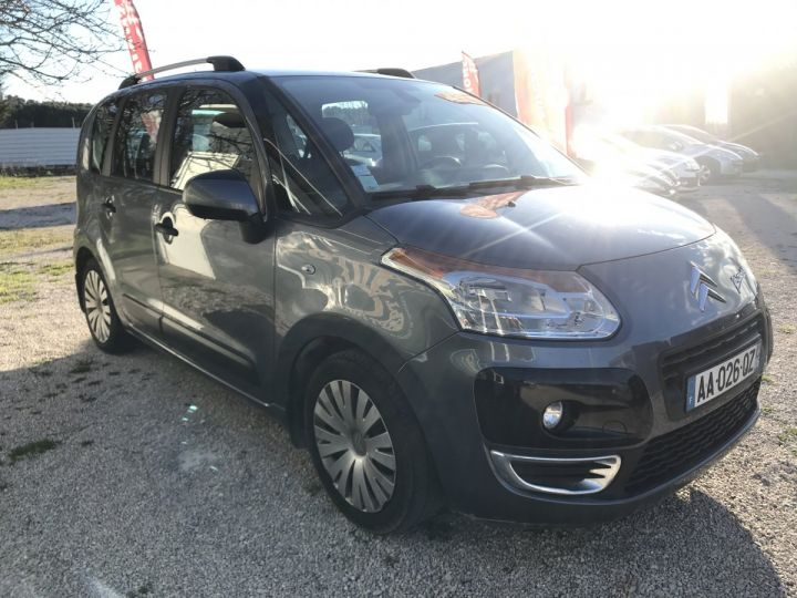 Citroen C3 Picasso EXCLUSIVE  GRIS FONCE METAL Occasion - 2