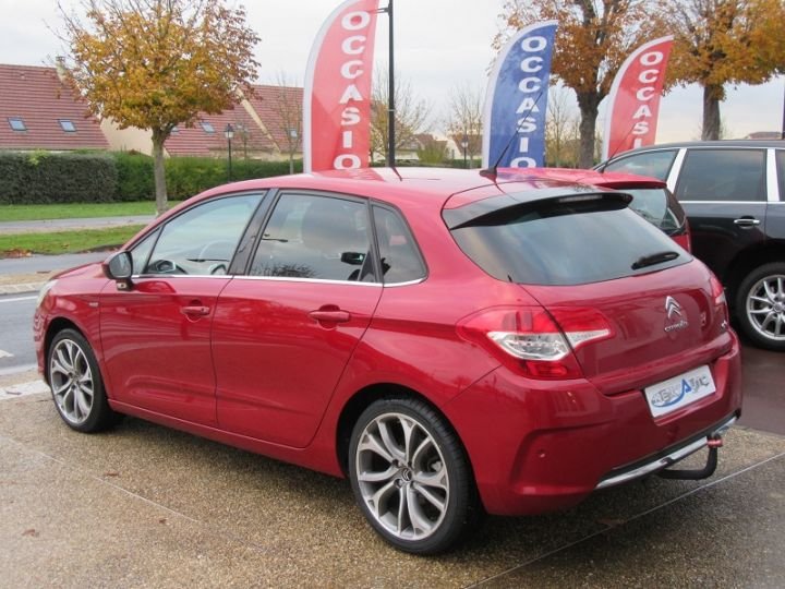 Citroen C4 1.6 THP 16V 155CH EXCLUSIVE BMP6 Rouge Occasion - 3