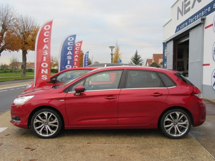 Citroen C4 1.6 THP 16V 155CH EXCLUSIVE BMP6 Rouge Occasion - 5