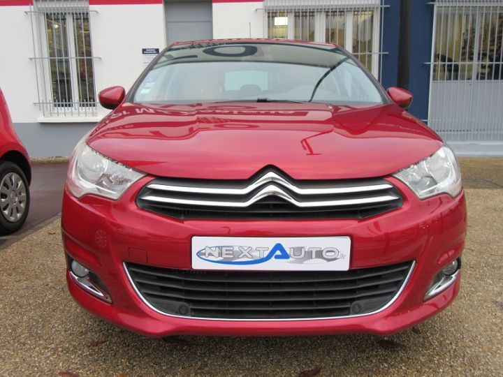 Citroen C4 1.6 THP 16V 155CH EXCLUSIVE BMP6 Rouge Occasion - 6