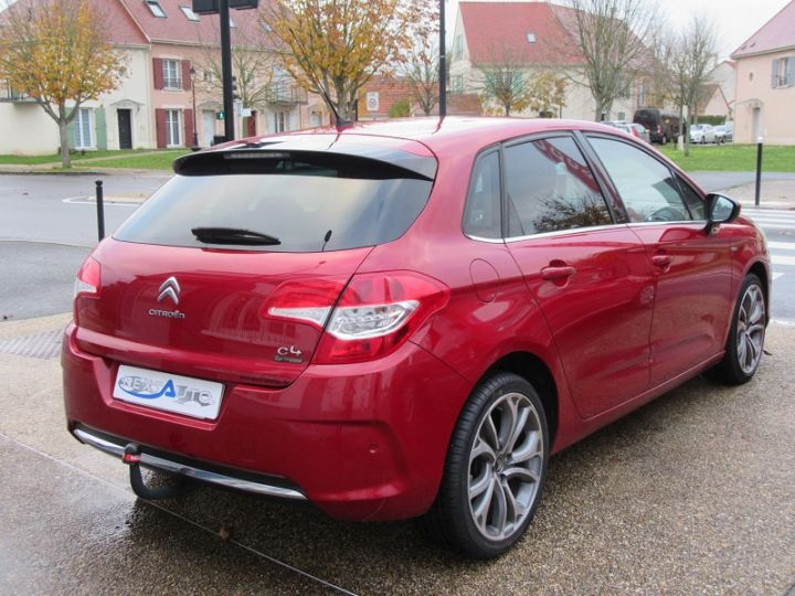 Citroen C4 1.6 THP 16V 155CH EXCLUSIVE BMP6 Rouge Occasion - 17