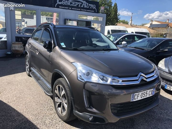 Citroen C4 AIRCROSS MARRON METAL Occasion - 1