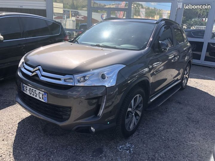 Citroen C4 AIRCROSS MARRON METAL Occasion - 2