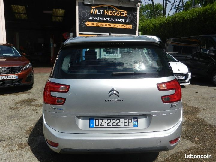 Citroen C4 Grand Picasso BlueHDi 120 S&S EAT6 Business GARANTIE 12 MOIS Argent - 5