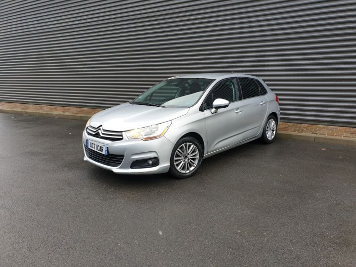 Citroen C4 ii 1.6 hdi 90 confort 5pts bv5 Gris Clair Occasion - 1