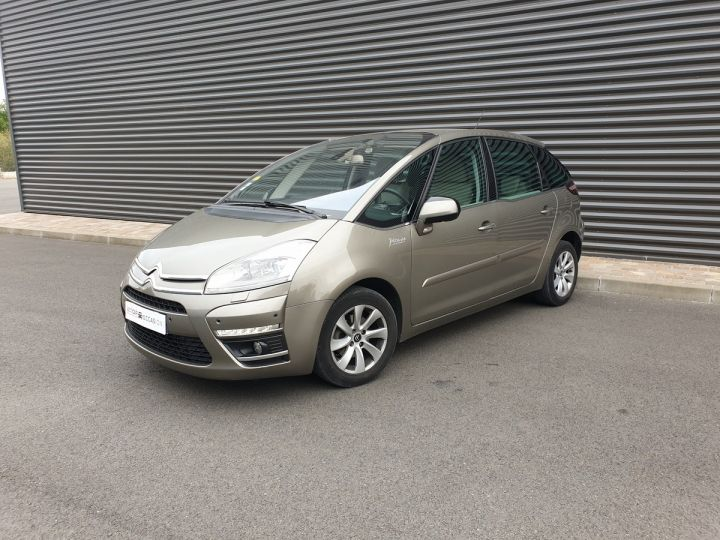 Citroen C4 Picasso 1.6 HDI 112 EXCLUSIVE BMP6 Marron Clair Métallisé Occasion - 1