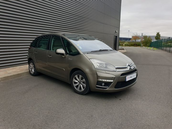 Citroen C4 Picasso 1.6 HDI 112 EXCLUSIVE BMP6 Marron Clair Métallisé Occasion - 2