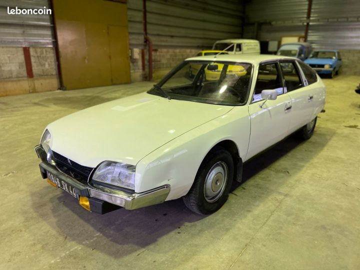 Citroen CX 2000 essence 77000km Blanc - 1