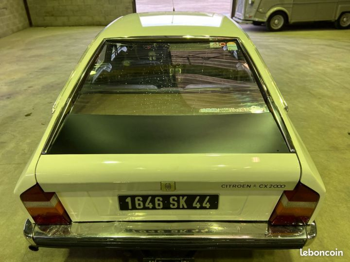 Citroen CX 2000 essence 77000km Blanc - 3