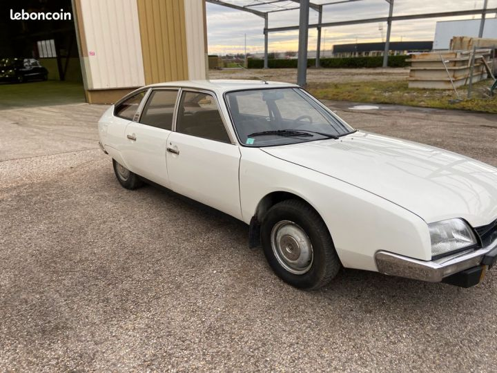 Citroen CX 2000 essence 77000km Blanc - 5