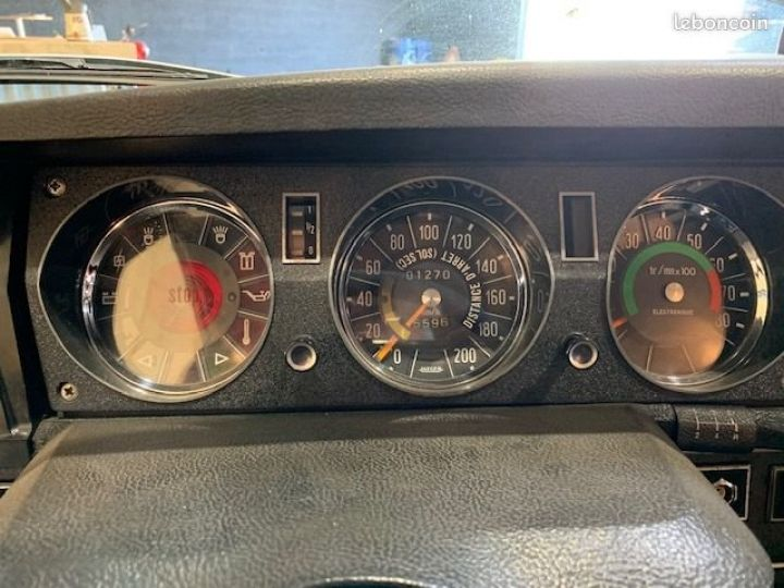 Citroen DS ds21 injection pallas 1970 poignée cuillere Noir - 9