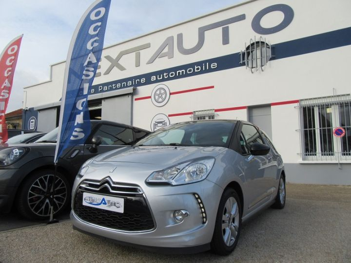 Citroen DS3 BLUEHDI 100CH SO CHIC GRIS CLAIR Occasion - 1