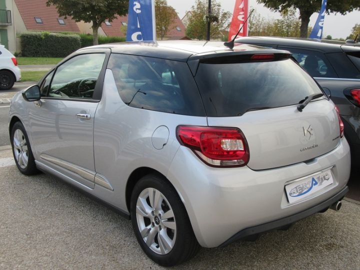 Citroen DS3 BLUEHDI 100CH SO CHIC GRIS CLAIR Occasion - 3