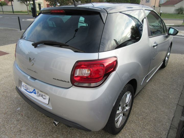 Citroen DS3 BLUEHDI 100CH SO CHIC GRIS CLAIR Occasion - 5