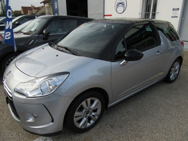 Citroen DS3 BLUEHDI 100CH SO CHIC GRIS CLAIR Occasion - 7