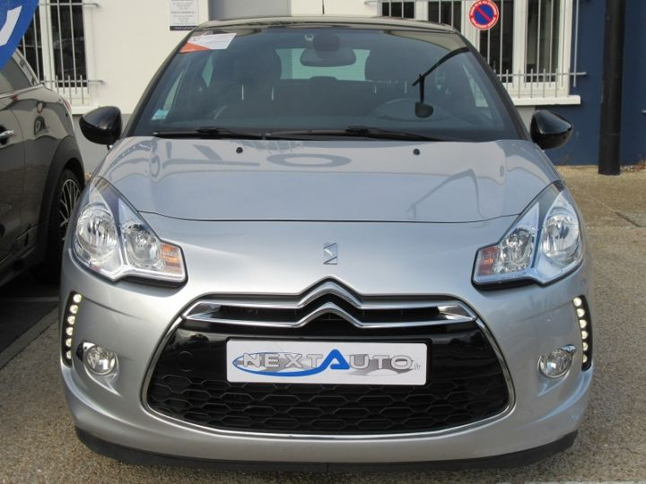 Citroen DS3 BLUEHDI 100CH SO CHIC GRIS CLAIR Occasion - 9