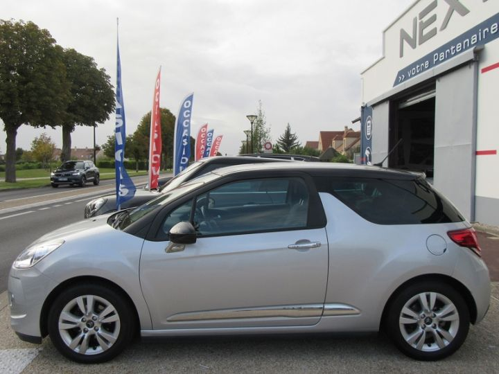 Citroen DS3 BLUEHDI 100CH SO CHIC GRIS CLAIR Occasion - 10