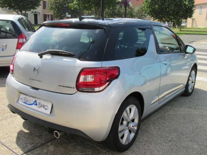 Citroen DS3 BLUEHDI 100CH SO CHIC GRIS CLAIR Occasion - 17