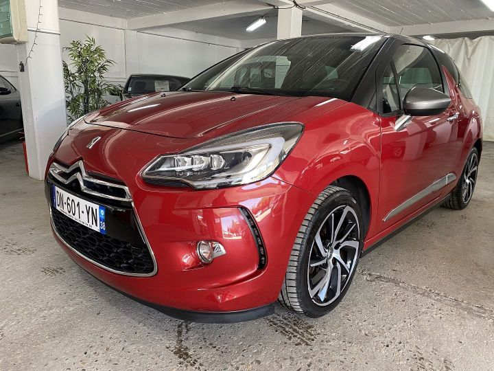 Citroen DS3 THP 165CH SO IRRESISTIBLE S&S Rouge - 1